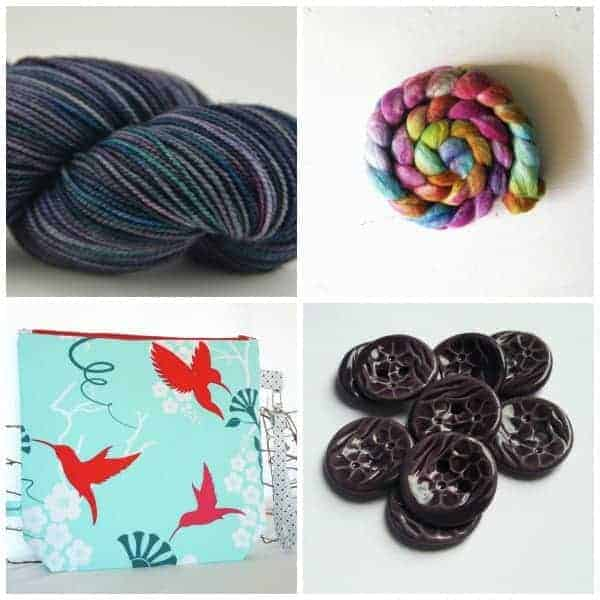 These are just a few of the dyers and crafters you will be able to discover on Indie Untangled. Clockwise from top left: Berry Colorful Yarnings, Pigeonroof Studios, Buttonalia and That Clever Clementine.