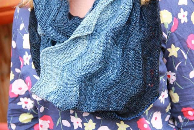 Fiar by Irishgirlieknits modeled by LizArrow