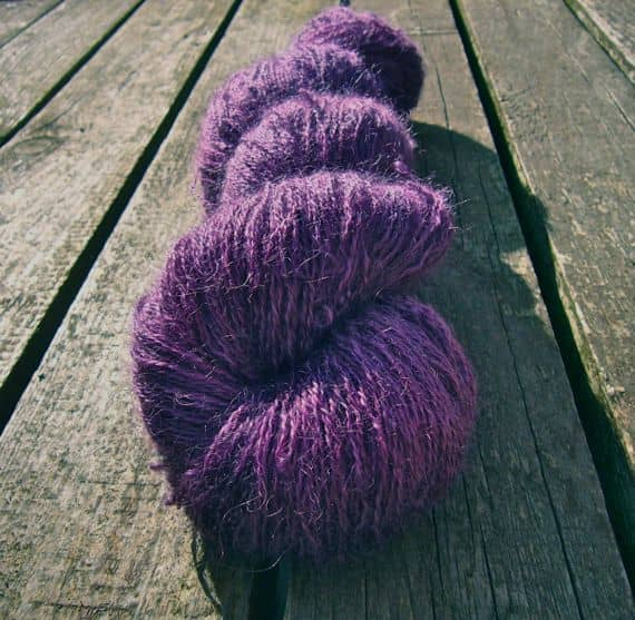 Damson Delight by Sylvan Tiger Yarn