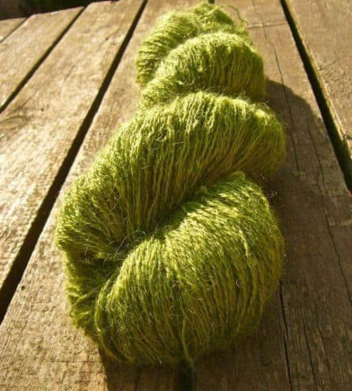 Greengage Glut from Sylvan Tiger Yarn