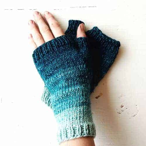 Gradient Mitts by Krista McCurdy