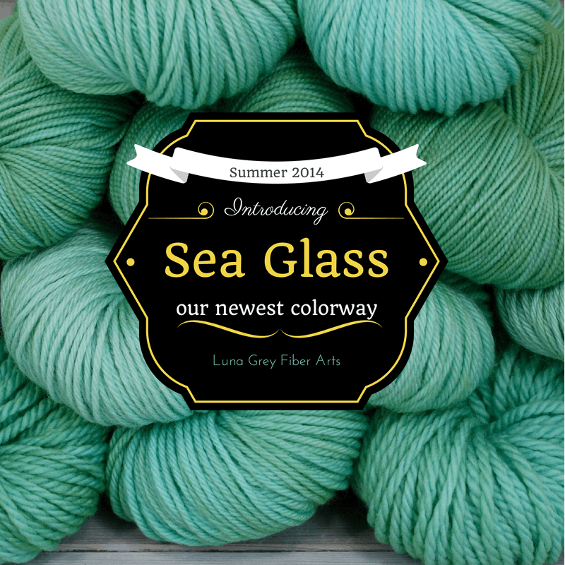 Sea Glass by Luna Grey Fiber Arts