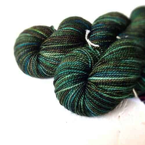 Peacock Silky High Twist Sock