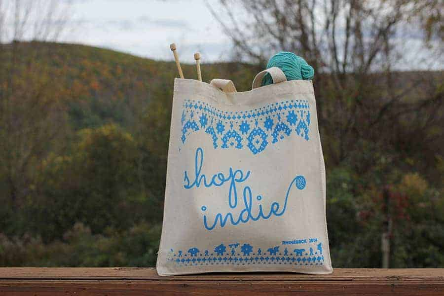 Rochelle designed and screen printed these awesome tote bags, which will be for sale at the Rhinebeck trunk show.