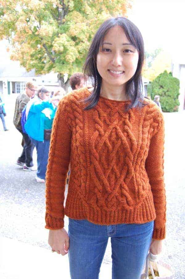 I admired all the fall-y sweaters.