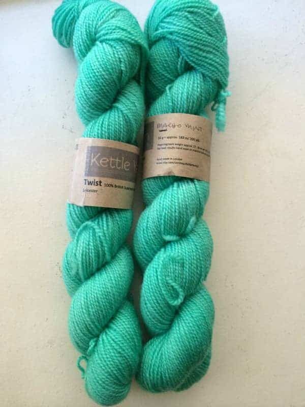 Mini skeins from Kettle Yarn Co.