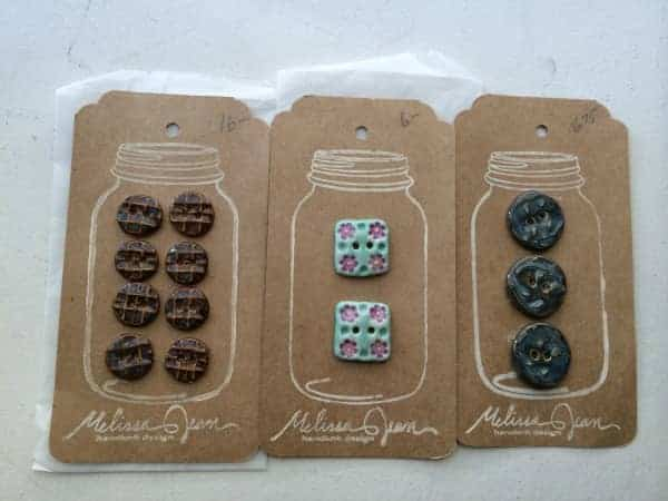 Buttons from Melissa Jean Design.