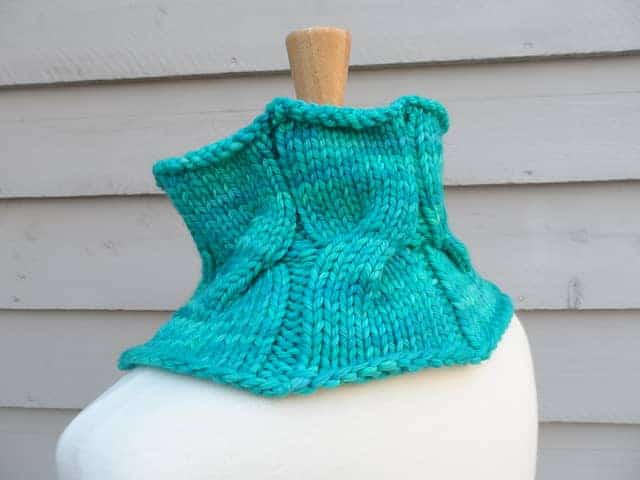 Rhinecliff Cowl by Laura Aylor (Part of the Indie Design GAL)