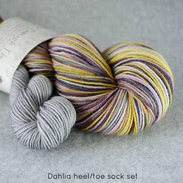 Dahlia HeelToe Sock
