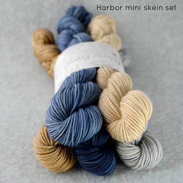 Harbor mini-skein set by Never Enough Thyme