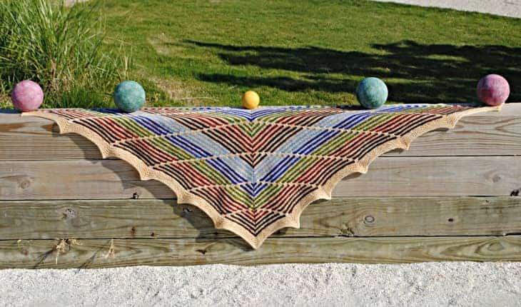bocce shawl
