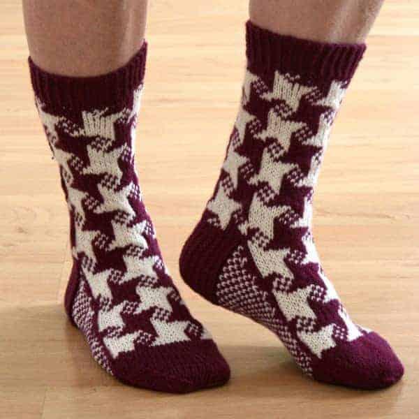 swirling-star-socks
