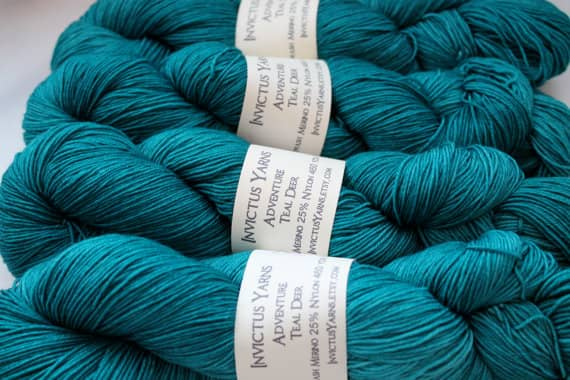 Teal Deer by Invictus Yarns