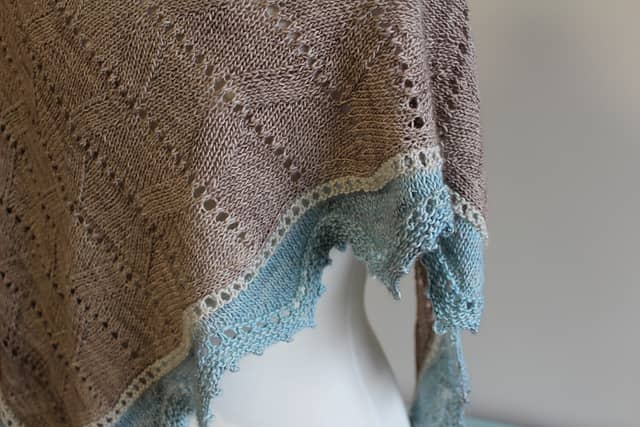 Sandpiper Shawl by Laura Aylor