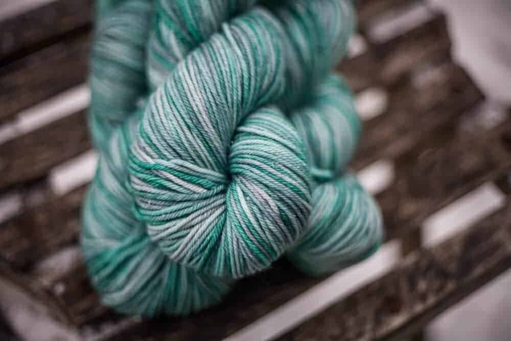 Sea Glass from Lakes Yarn and Fiber