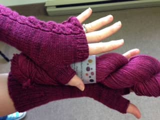 Thea Coleman's London Mitts in The Uncommon Thread.