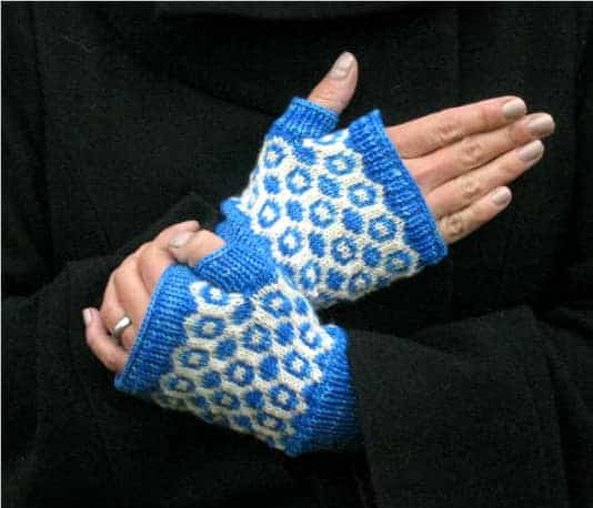 Inverse Mitts by Keya Kuhn