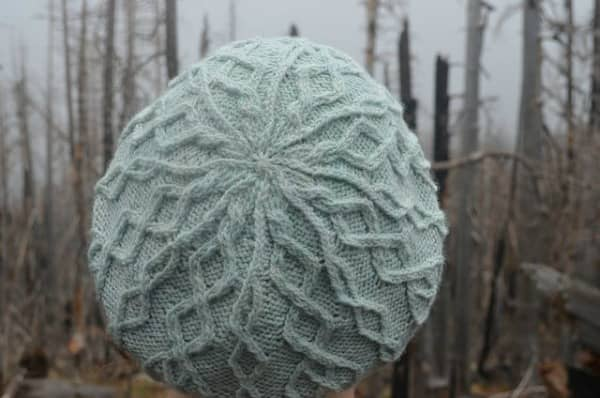 Nancy/kathynancygirl's Cloud Cap in Lakes Yarn and Fiber Killarney DK