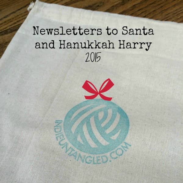 Newsletter Giveaway Drawstring