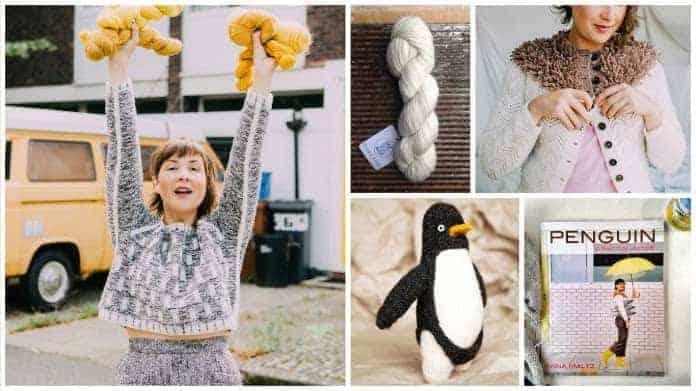 Images © Anna Maltz / Skein of Clara yarn © me