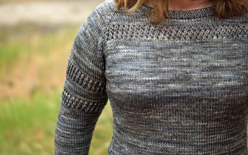 Erica/ejsufka's Season's Promise in Western Sky Knits Willow DK