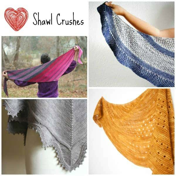 Shawl Crush Collage