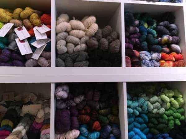 Woolyn yarn