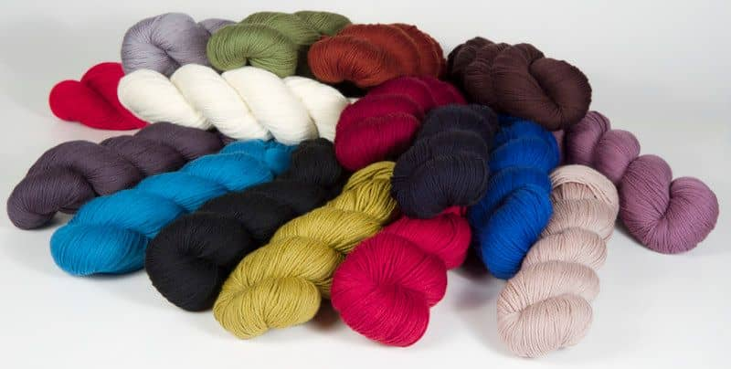 Yarn: Cheeky Merino Joy, a fingering-weight 100% organic Merino from Patagonia