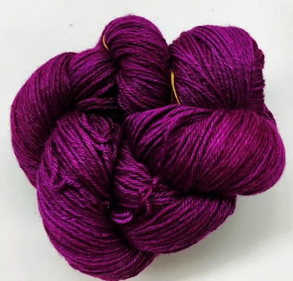 Pink purple yarn