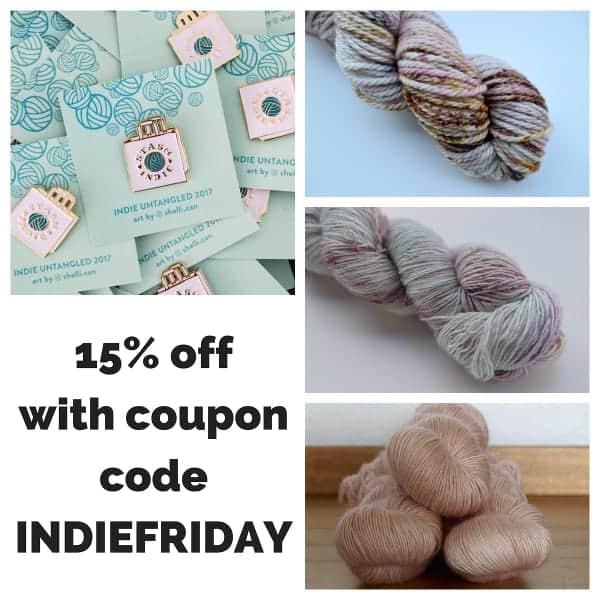 Ravelry archives indie untangled what to stash this week indie yarn black friday weekend deals fandeluxe Images