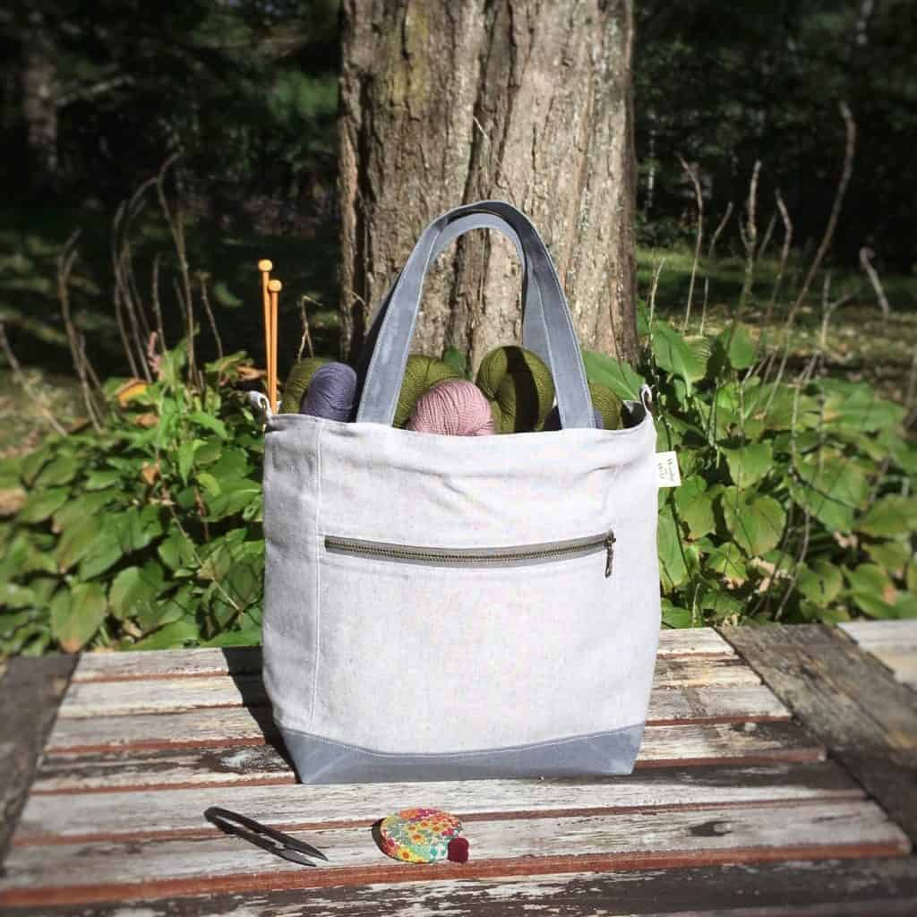Gray project bag