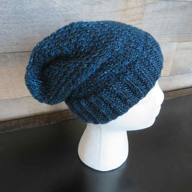 a6282e091e91c Lena s Mermaid Scales Slouch Hat is a great showcase for that random skein  of variegated