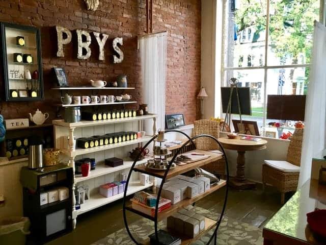 Perfect Blend Yarn shop interior