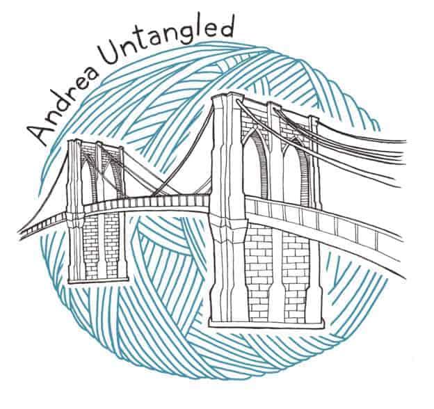 Andrea Untangled illustration web