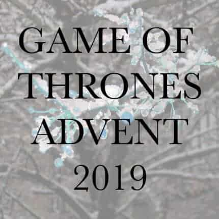 Game of Thrones Advent 2019