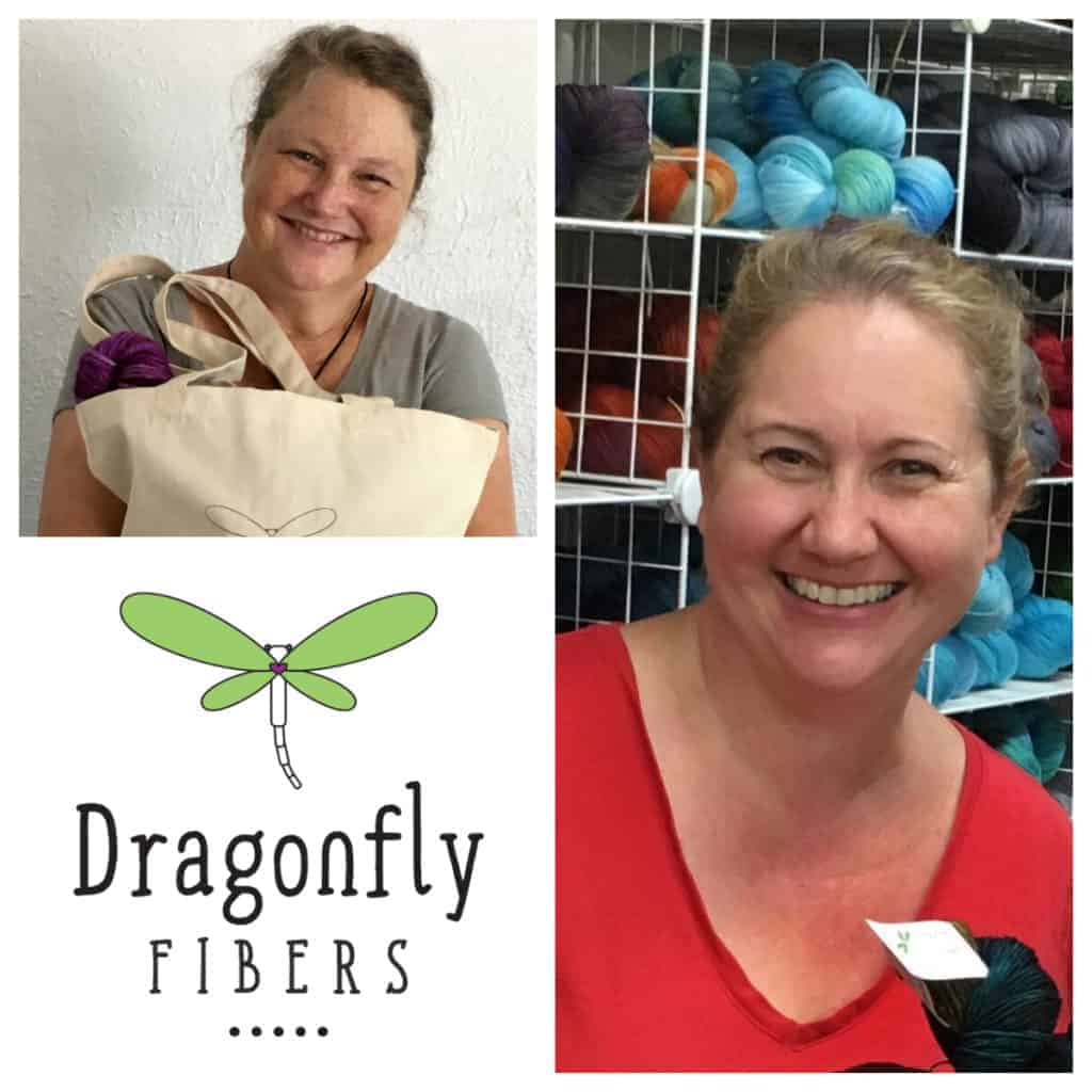 Kate and Nancye of Dragonfly Fibers