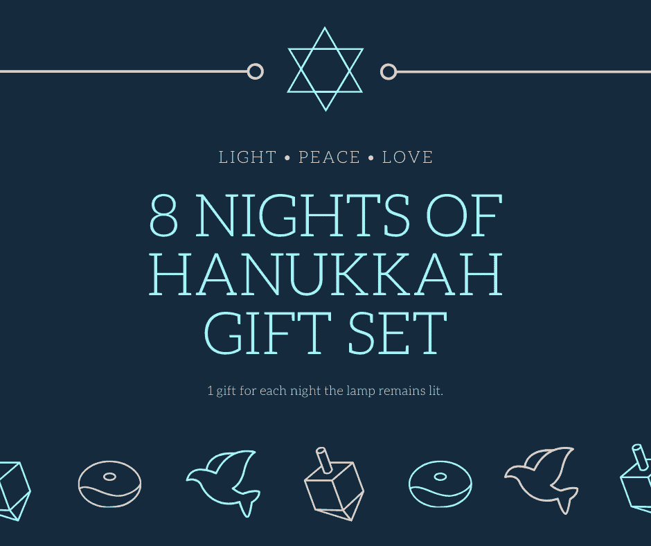 8 Nights of Hanukkah Gift Set
