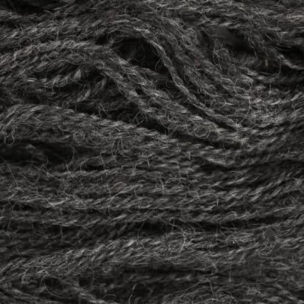 Dark gray yarn.