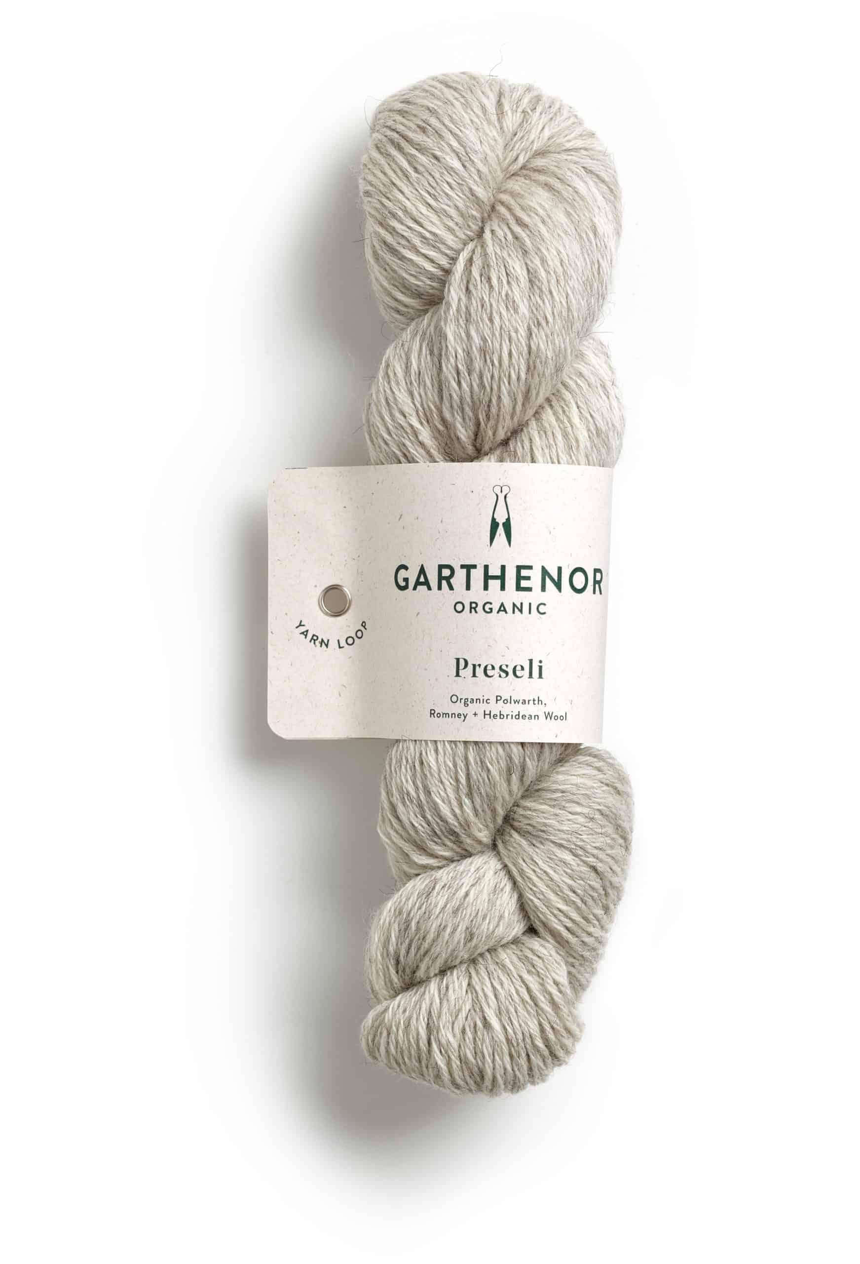 White yarn.
