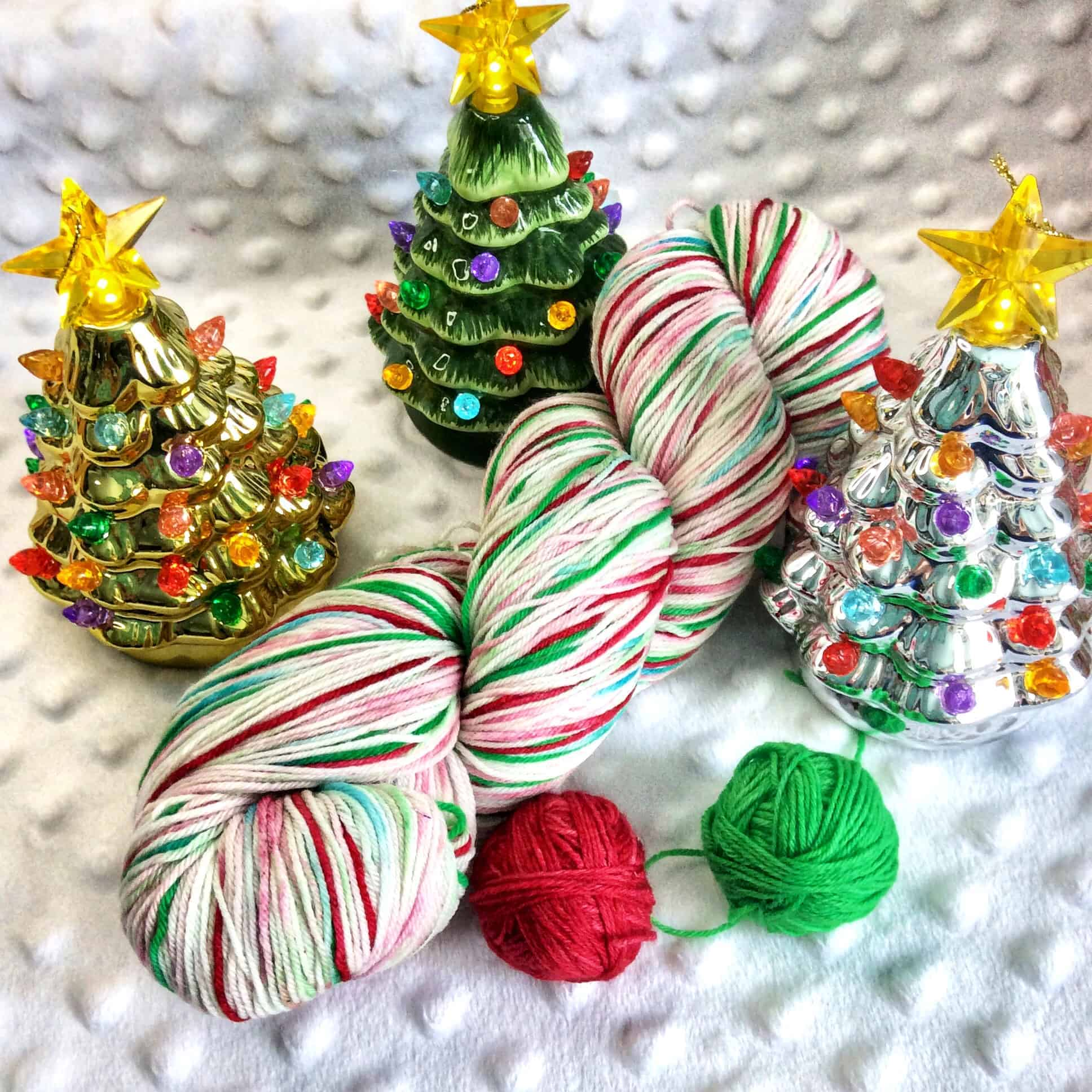 Christmas yarn.