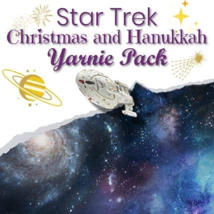 Star Trek Christmas and Hanukkah Yarnie Pack