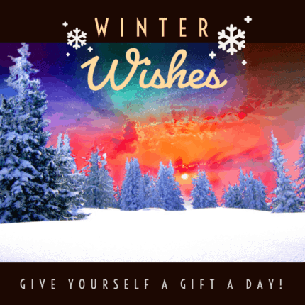 Winter wishes illustration.