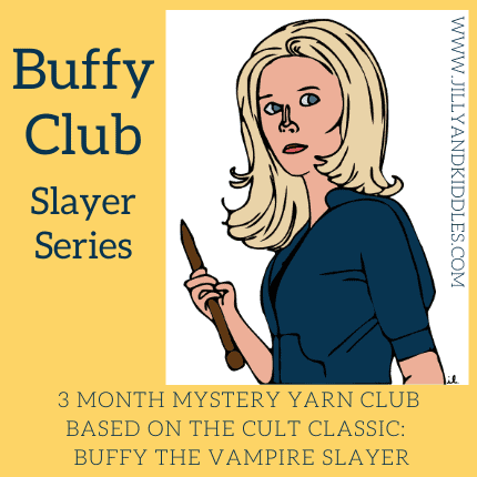 A drawing of Buffy the Vampire Slayer.