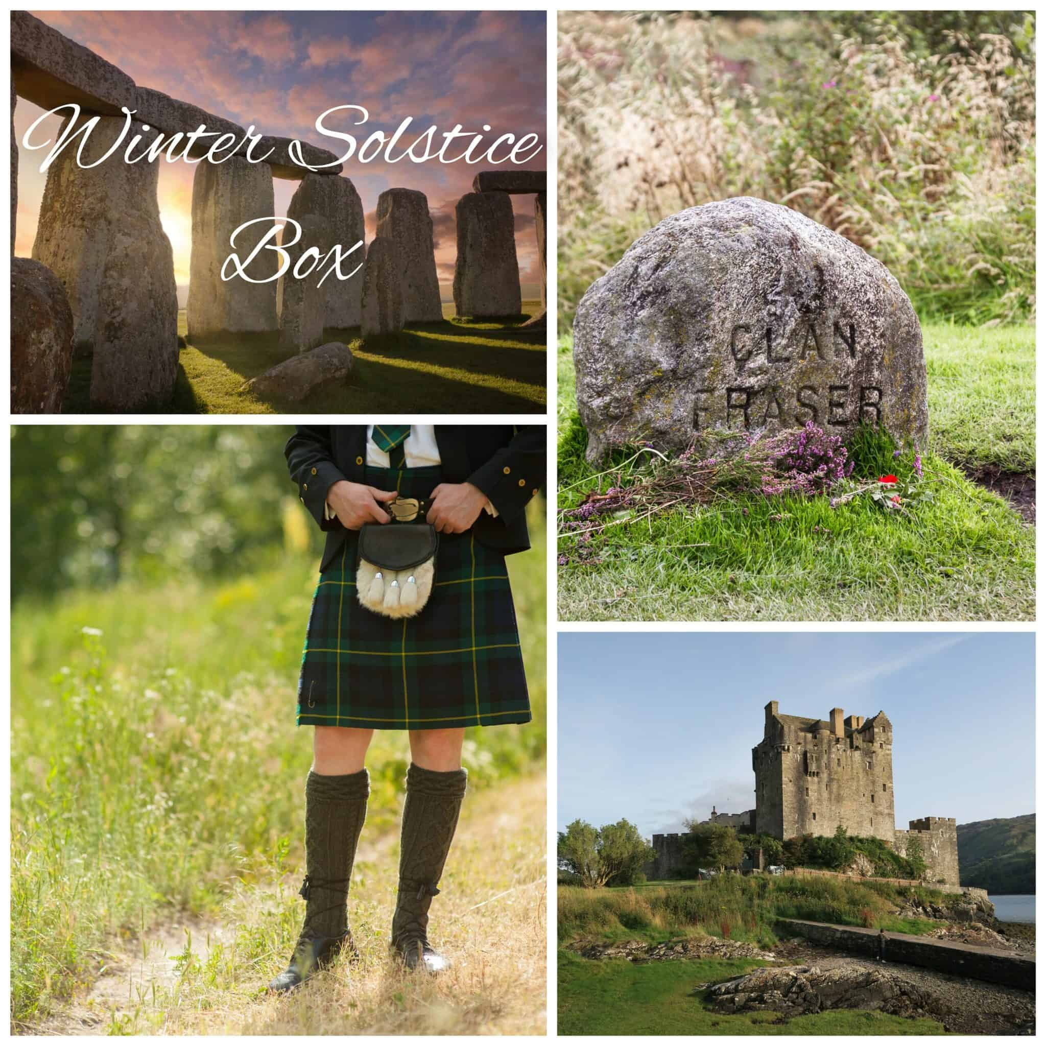 A collage of scenes from Scotland.